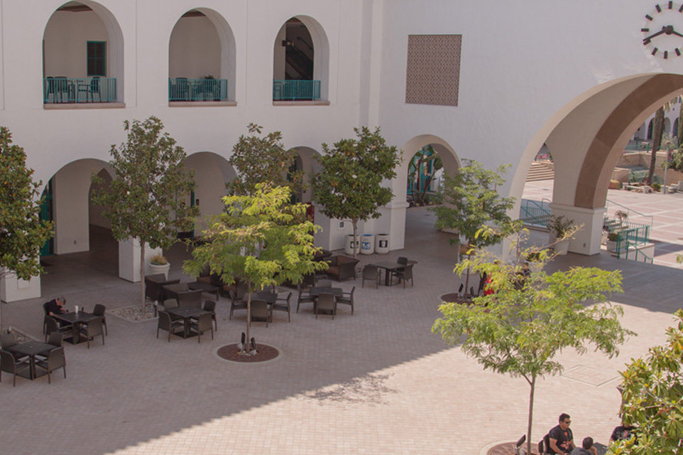 Aztec Student Union: Goldberg Courtyard